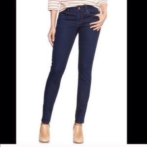Gap always skinny dark wash size 25s jeans